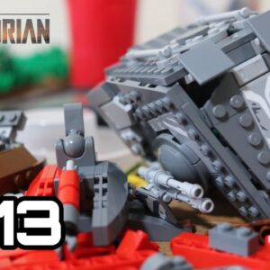Building Sorgan in Lego: Episode 13 - Starting on the AT ST Raider