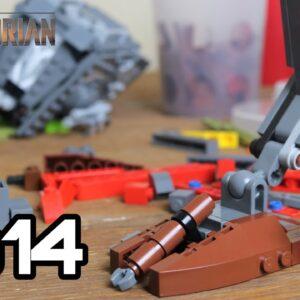 Building Sorgan in Lego: Episode 14 - More AT ST Raider Progress