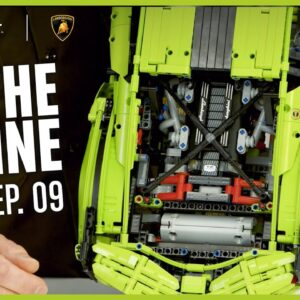 Episode 9 - Building the Engine and Suspension | LEGO Technic