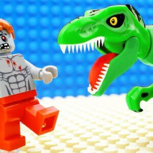 Godzilla vs Dinosaur - Shark Lego