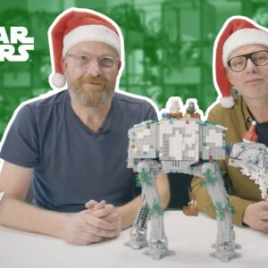 How to Decorate Your AT-AT Walker for the Holidays | LEGO® Star Wars