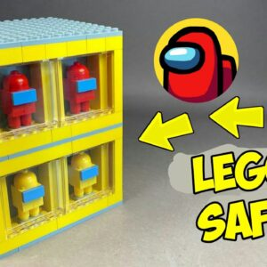 How to make a Lego Among Us Puzzle Box Safe / Lego Tutorial