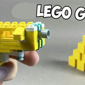How to make a Lego Pistol Gun / Lego Tutorial