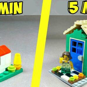How to make a Lego Puzzle Box 1 MIN VS 5 MIN