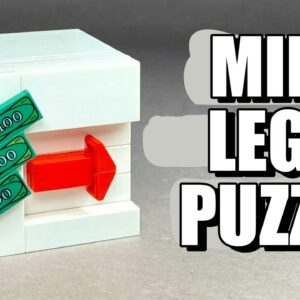How to make a Lego Puzzle Box for Money