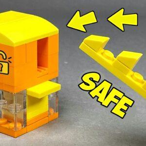 How to make a Lego Safe with Key / Lego Tutorial