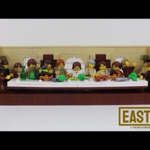 Lego The Last Supper MOC - The Bible in Bricks Easter Collab Ep1