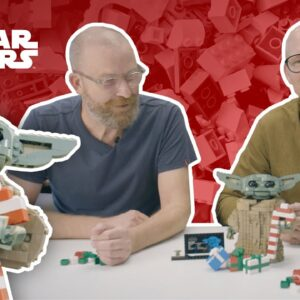 How To Decorate The Child For the Holidays | LEGO® Star Wars