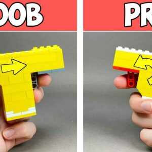 How to make a Lego Pistol / Easy Tutorial