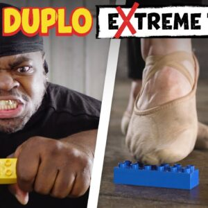 LEGO DUPLO *Extreme* Safety Tests | LEGO DUPLO Behind the Scenes