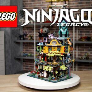 LEGO NINJAGO City Gardens | LEGO Designer Video 71741 |10 Year Anniversary