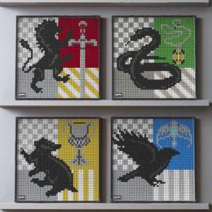 Harry Potter™ Hogwarts™ Crests – 31201 – LEGO® Art