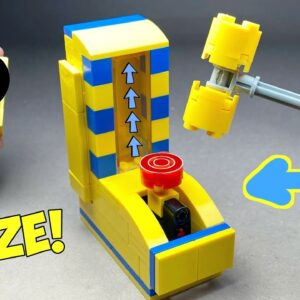How to make a Lego Hammer Arcade Machine