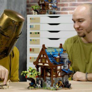 LEGO Ideas Medieval Blacksmith 21325 | LEGO Designer Video