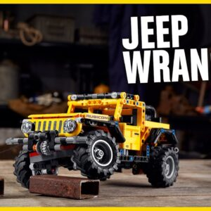Ready for an off-road adventure with the epic Jeep® Wrangler? | LEGO Technic