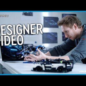 Designing the LEGO Technic McLaren Senna GTR