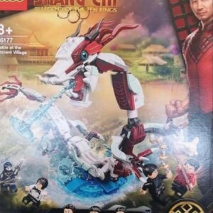 first image of lego marvel shang chi battle at the ancient village 76177 box art revealed