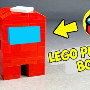 How to make a Lego Among Us Puzzle Box | No Technic