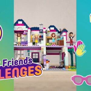 LEGO Friends Challenge time! A dance challenge at Andrea's House!