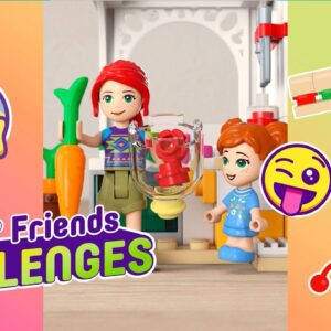 LEGO Friends Challenge time! See the Smoothie Challenge at the Cafe