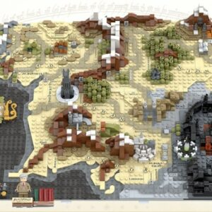 lego ideas a map of middle earth project reaches 10000 supporters