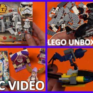 LEGO MEGA MIX Compilation Part 1 (Star Wars Elves Batman)