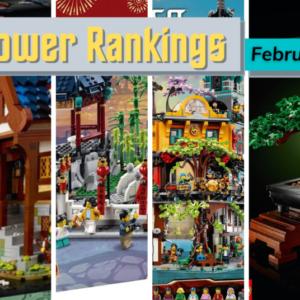 lego power rankings february 2021