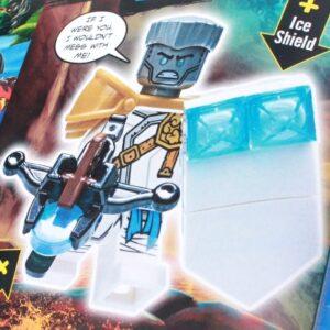 next months lego ninjago magazine includes an exclusive zane minifigure