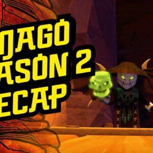 Ninjago Season 2 Recap Trailer | LEGO Family Entertainment