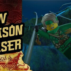 Ninjago Season 3 Sneak Peek | The Island | LEGO Family Entertainment