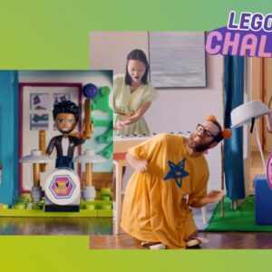 Recreate fun LEGO Friends stories in real life - with your family!