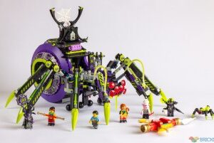 review 80022 spider queens arachnoid base
