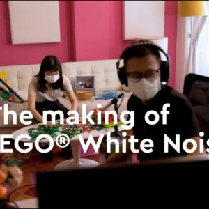 The making of LEGO® White Noise