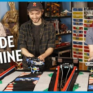 The Ultimate LEGO Technic Arcade Game!