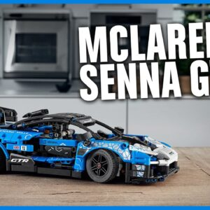 Ultimate speed. Supreme power. The McLaren Senna GTR | LEGO Technic