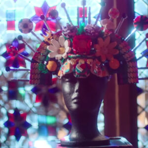actor billy porter teams up with kids to design colourful lego headdress