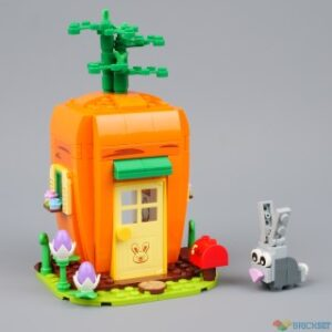 review 40449 easter bunnys carrot house