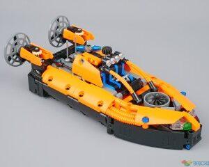 review 42120 rescue hovercraft