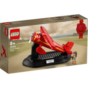 review lego 40450 amelia earhart tribute gift with purchase