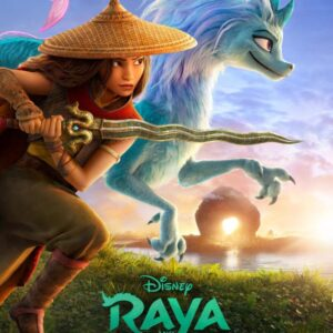 the lego group reveals raya and the last dragon poster
