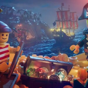 cg artist stefan muller recreates a classic lego 90s pirate poster in stunning detail
