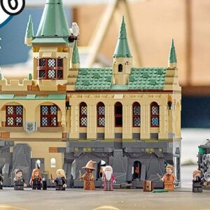 combining the lego harry potter hogwarts sets of past present and future