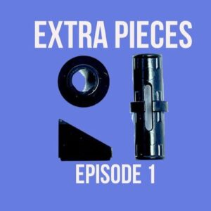 episode 1 of the extra pieces podcast is now live