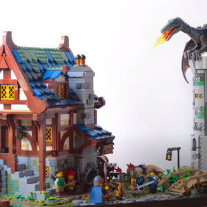 expand lego ideas 21325 medieval blacksmith with this fantastical addition
