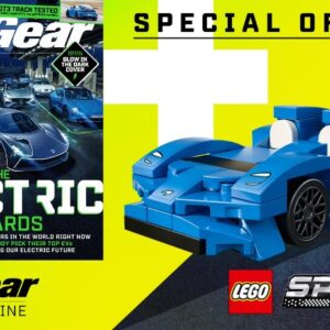 free lego speed champions 2021 set with top gear magazine