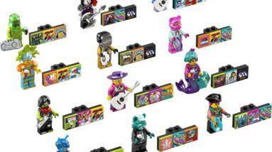 heres a closer look at the latest lego vidiyo bandmates series 2 43108 minifigures