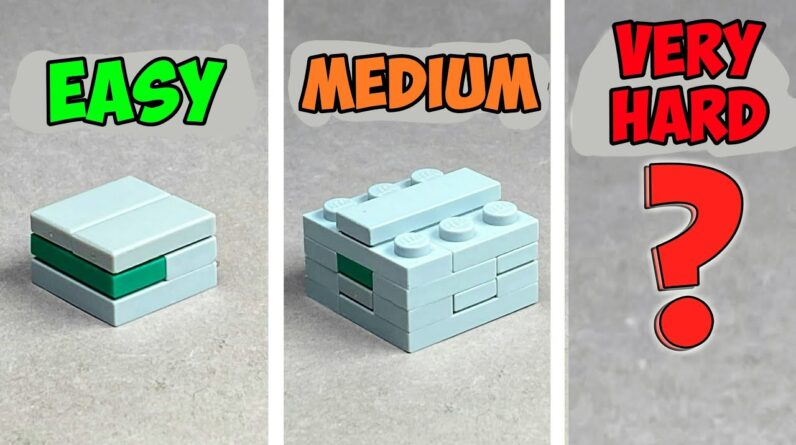 How to make a Lego Puzzle Boxes