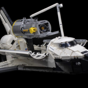 lego 10283 nasa space shuttle discoverys concept model was designed in just one day