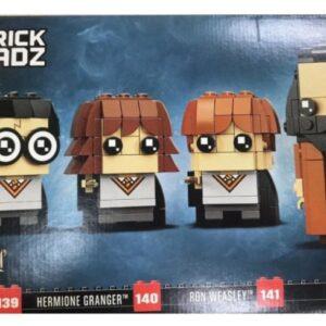 lego brickheadz harry hermione ron hagrid 40495 set discovered