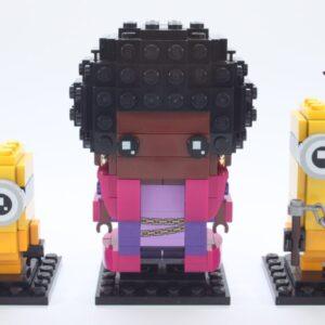 lego brickheadz minions 40421 belle bottom kevin and bob review